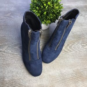 Michael Antonio Double Zipper Booties Size 7.5